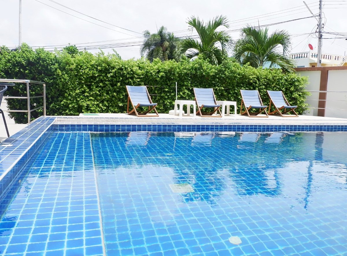 44 Sqm 1 bedroom condo in Bang Sare village.  2 minute walk to the beach ID 22322 - Condominium - Bang Saray - Close to the beach