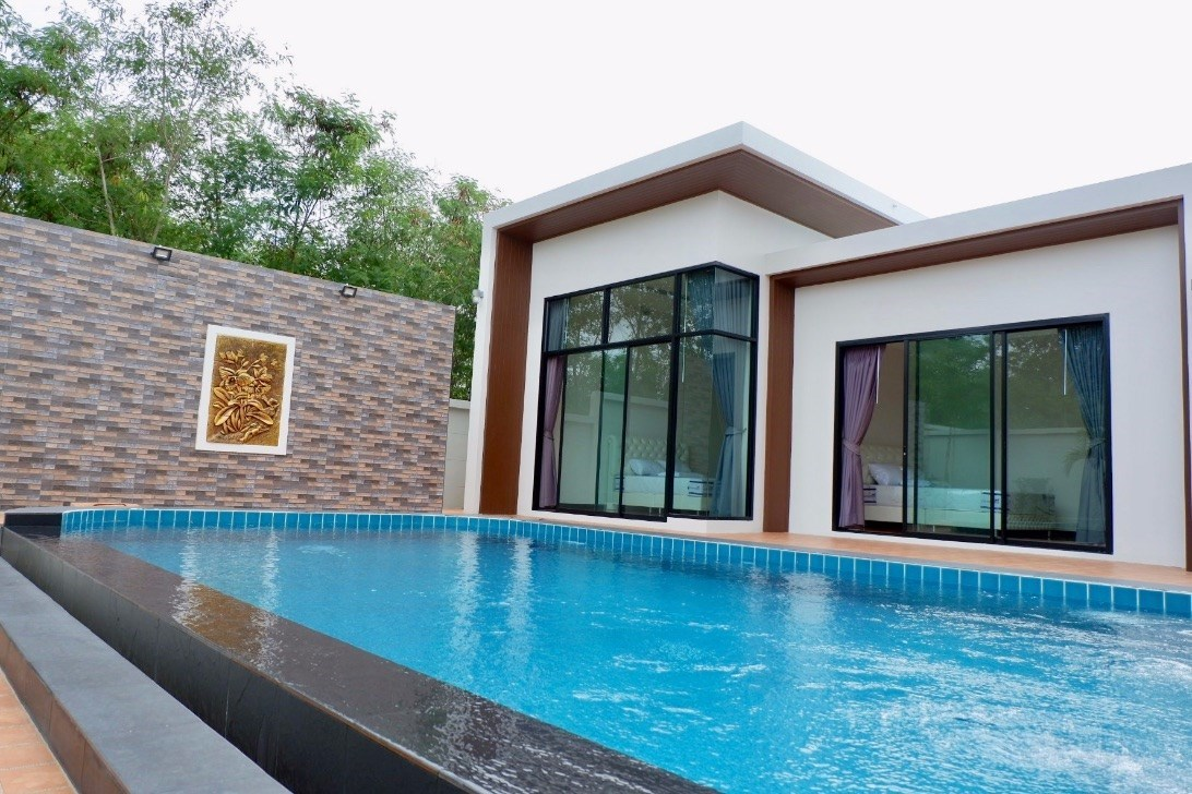 Pool villa in Bang Sare  - House - Bang Saray -