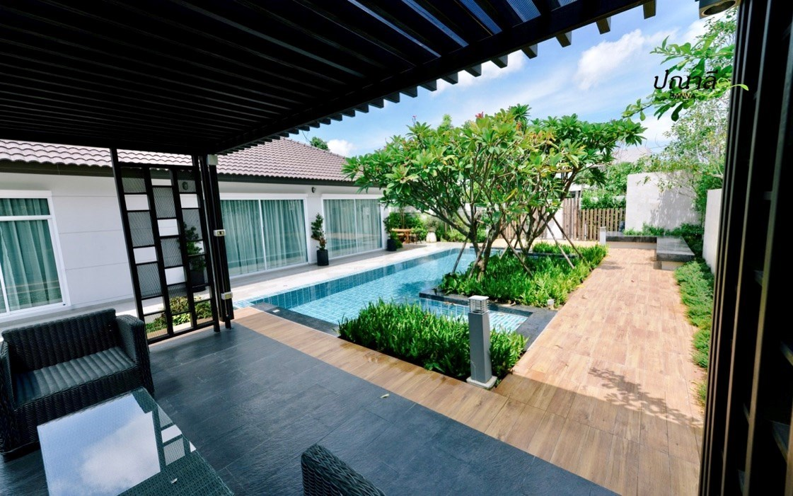 Villa with Pool In Na Jomtien    - House - Na Jomtien -