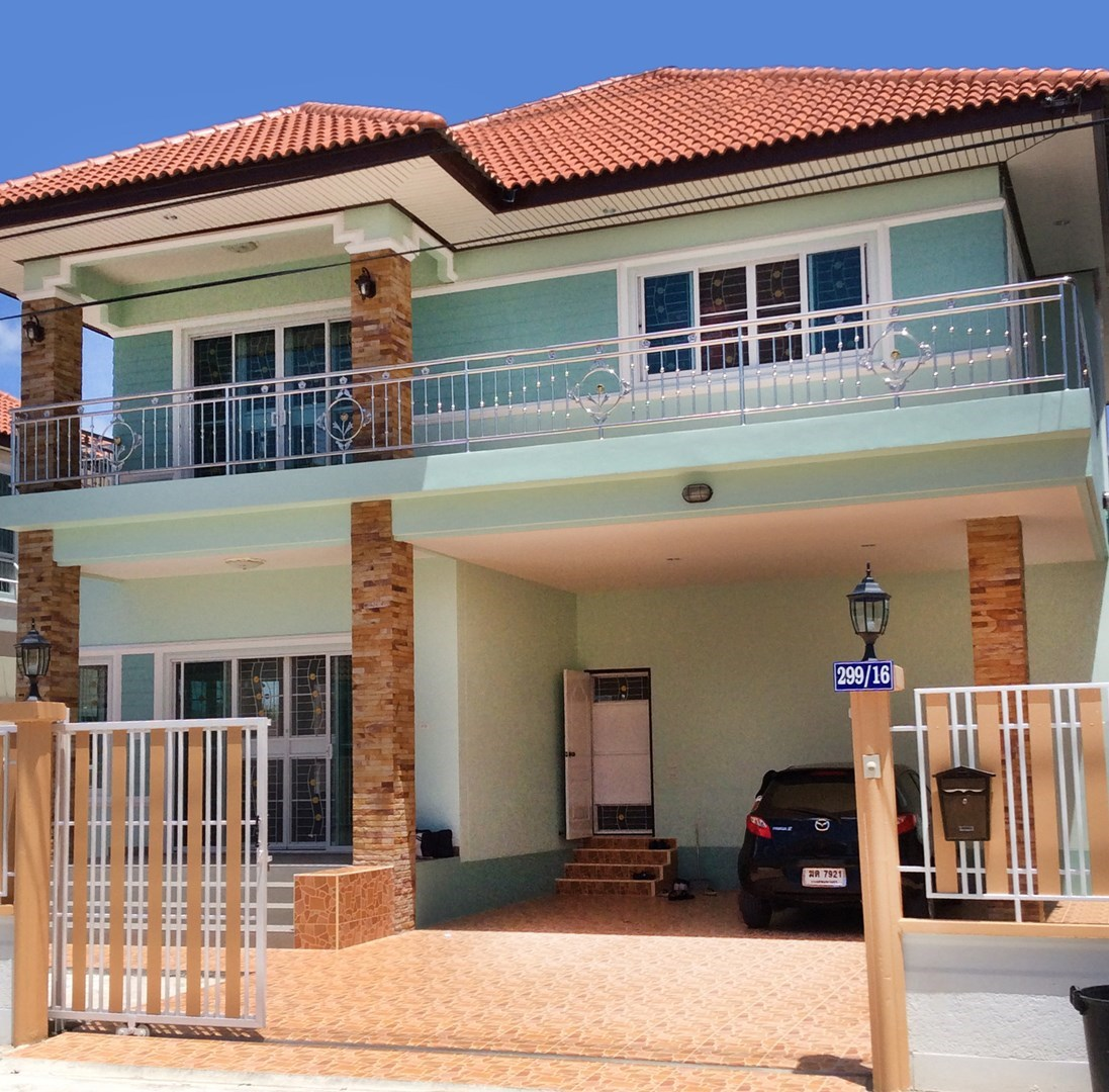 2 story home in gated village in the center of Kanchanaburi town  - House - Kanchanaburi - Kanchanaburi