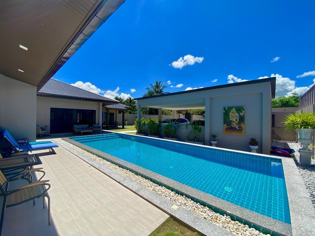 Immaculate 3 Bedroom Pool Villa - House - Huay Yai -