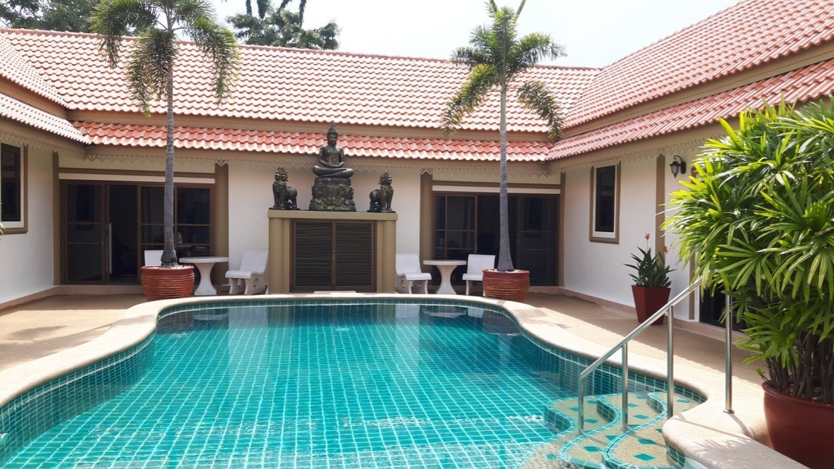 Large Courtyard Pool Villa in Bang Saray   - House - Bang Saray -