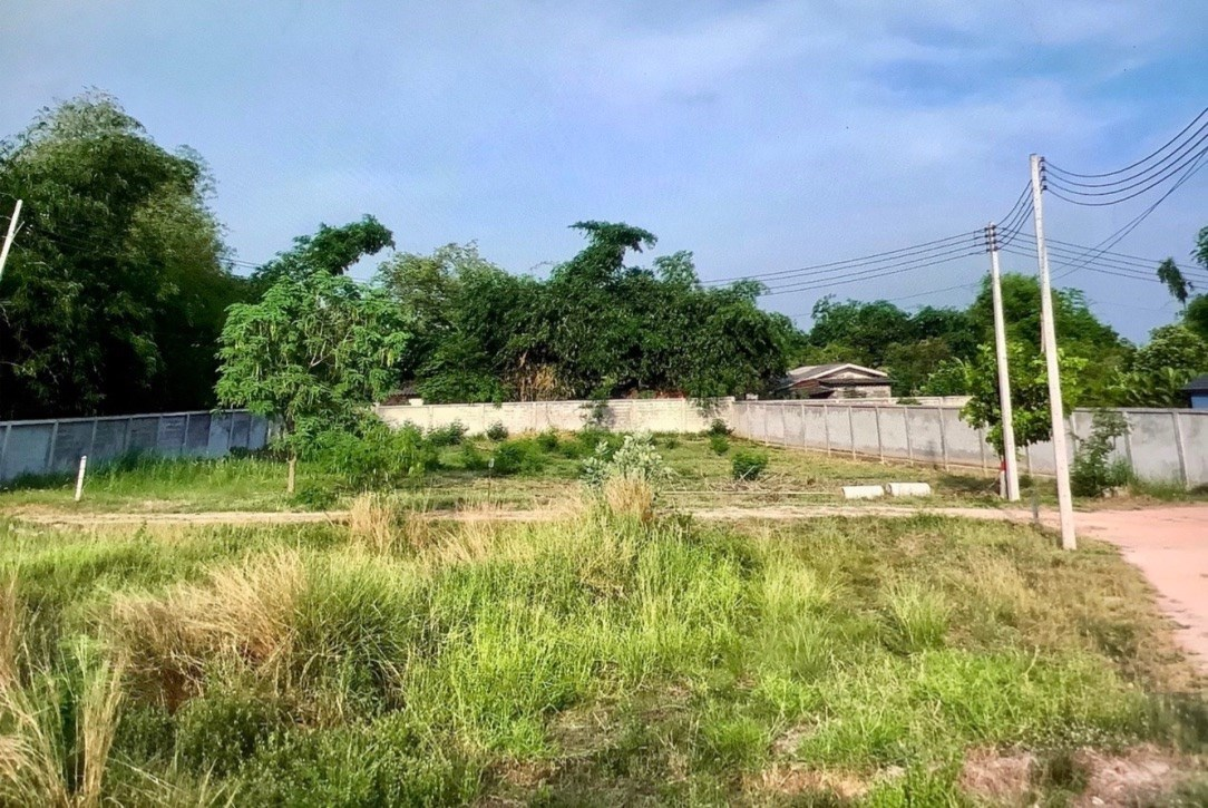 A Great Stand-Alone, Walled Plot For Your Home in a Good Huay Yai Location  - Land - Na Jomtien -