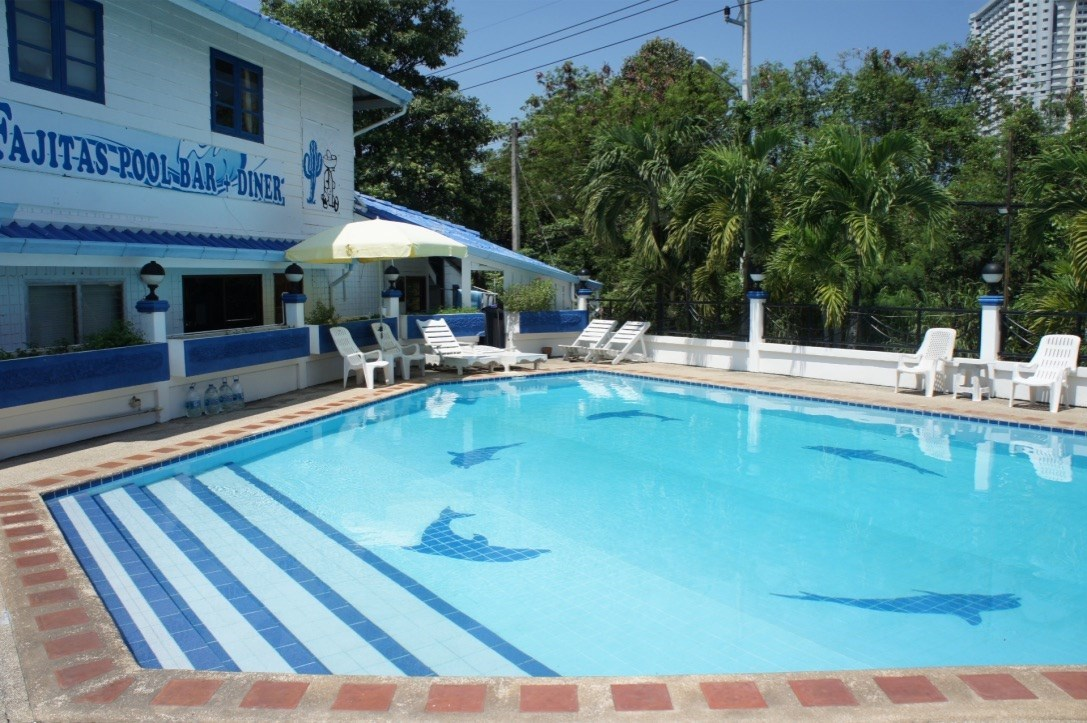 Bar and restaurant with pool in Na Jomtien    - Commercial - Na Jomtien -